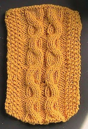 serpentine knitting pattern