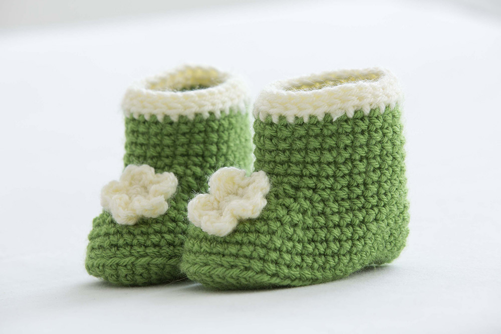 Posy Baby Booties