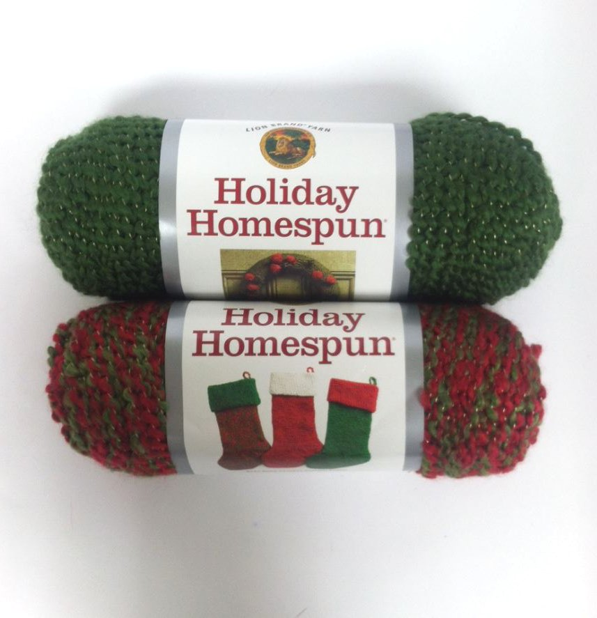 Lion Brand Yarn Holiday Homespun Patterns Best Lion 2017