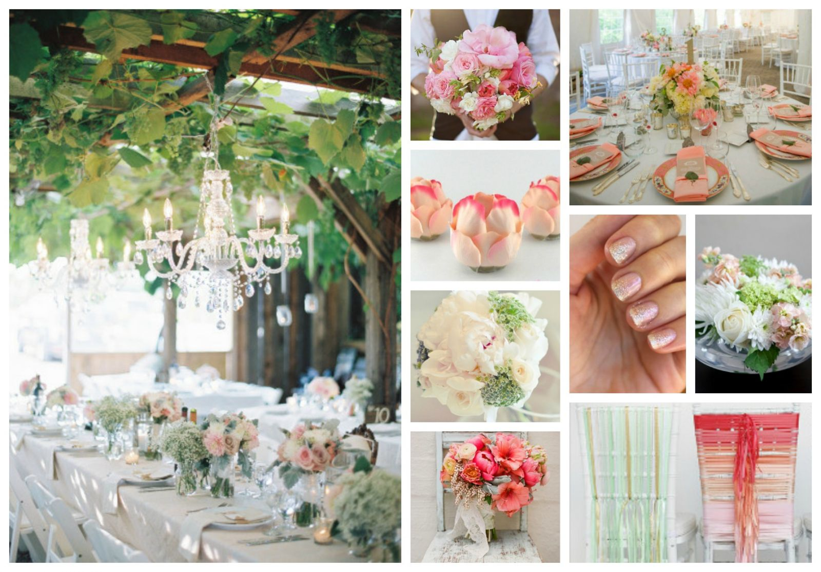 Wedding Color Schemes Mint and Pink AllFreeDIYWeddingscom