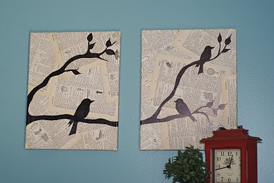 Bird Wall Art & Bird and Text Collage Wall Art | FaveCrafts.com