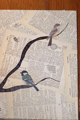 Bird And Text Collage Wall Art Favecrafts Com