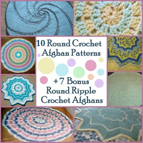 How to Crochet 14 Round Afghans | AllFreeCrochetAfghanPatterns.com
