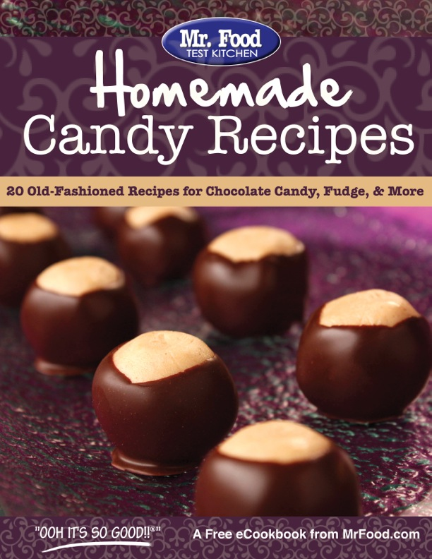 Homemade Candy Recipes FREE eCookbook