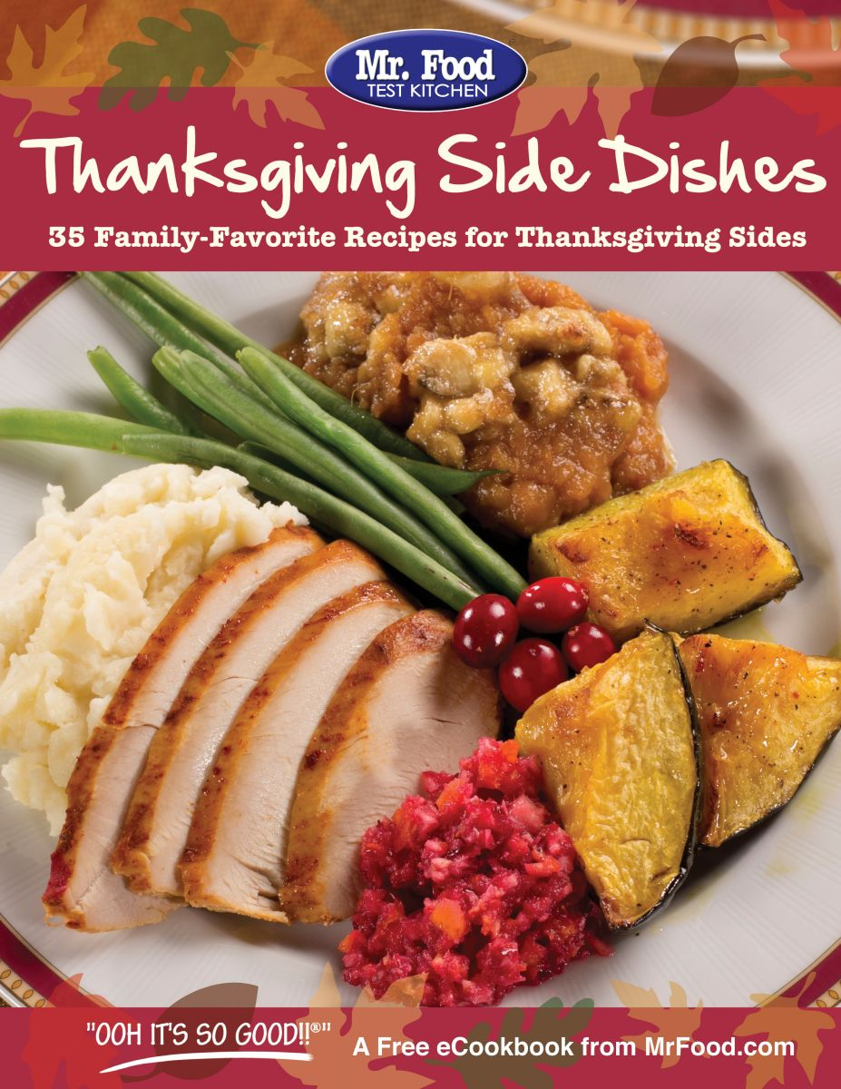 Thanksgiving Side Dishes FREE eCookbook
