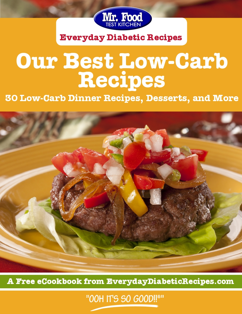 Our Best Low-Carb Recipes: 30 Low-Carb Diner Recipes, Desserts, and More!
