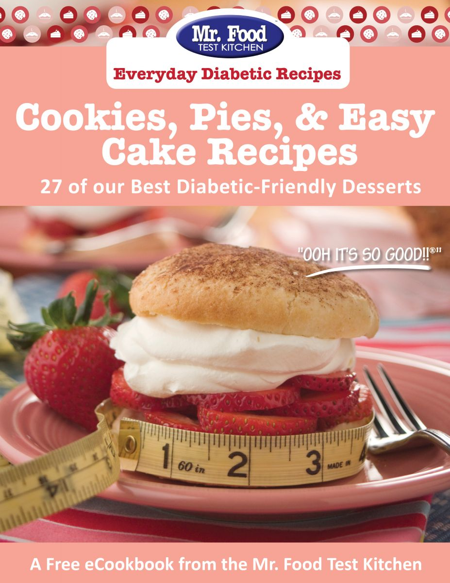 Cookies, Pies, & Easy Cake Recipes: 27 of Our Best Diabetic-Friendly Desserts