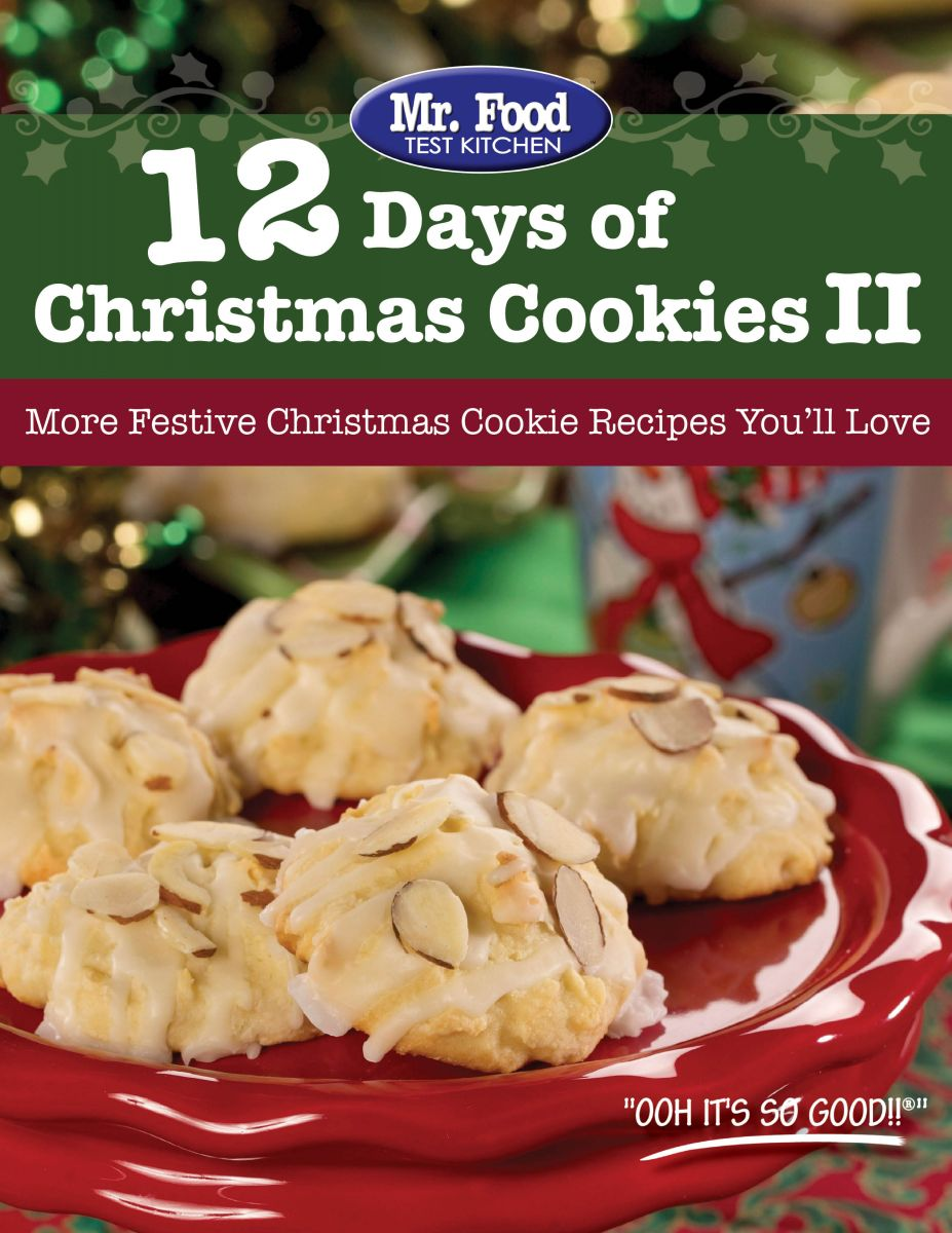 12 Days of Christmas Cookies II FREE eCookbook