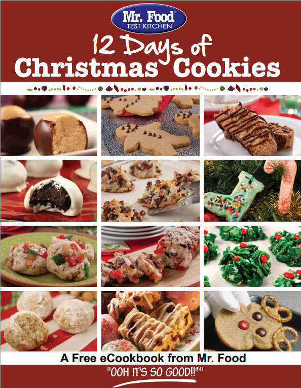 12 Days of Christmas Cookies FREE eCookbook