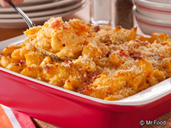 Bacon Buffalo Mac and Cheese