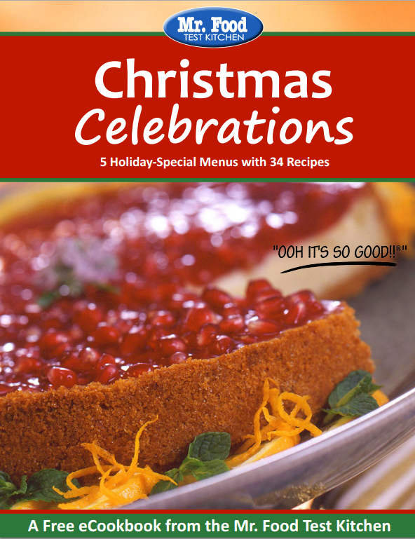 Christmas Celebrations FREE eCookbook