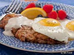 Country-Fried Steak & Eggs