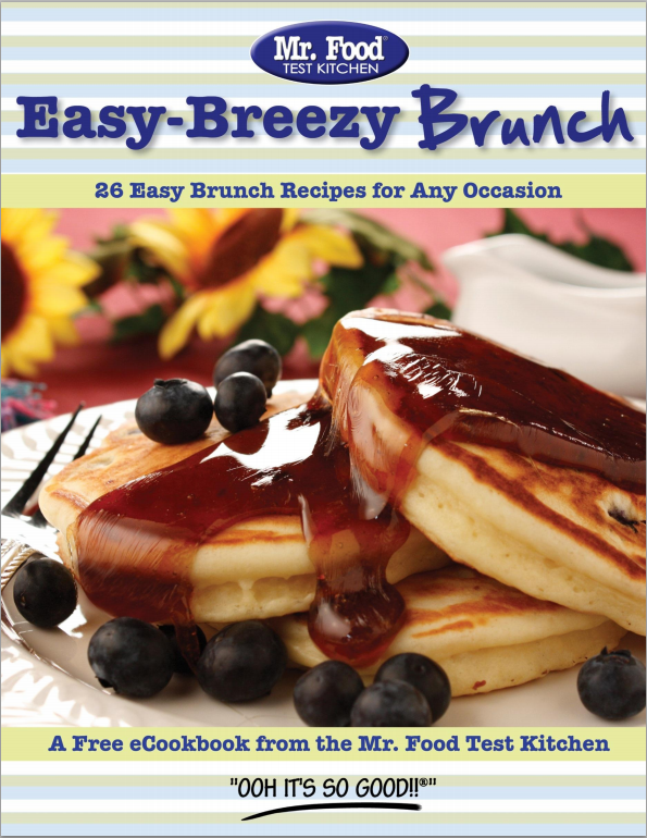 Easy Breezy Brunch FREE eCookbook