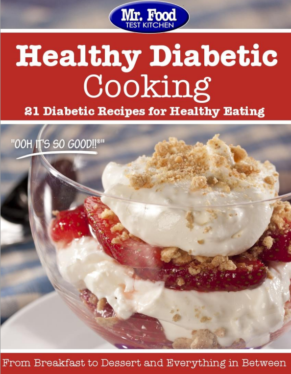 Healthy Diabetic Cooking: 21 Diabetic Recipes for Healthy Eating