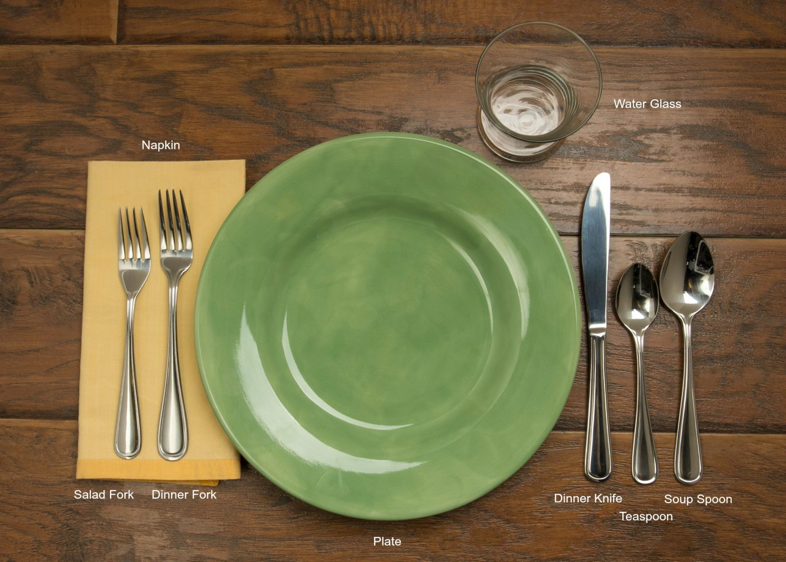 Informal Table Setting : image of table setting - pezcame.com