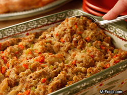 Mama's Old-Fashioned Stuffing