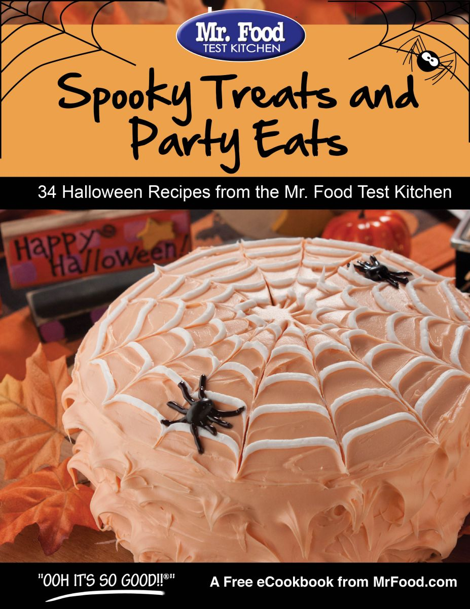 Spooky Treats and Party Eats FREE eCookbook