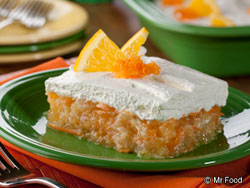 Pineapple Citrus Cream Squares