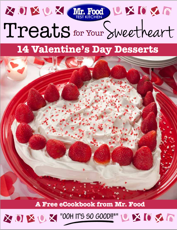 Treats for Your Sweetheart FREE eCookbook