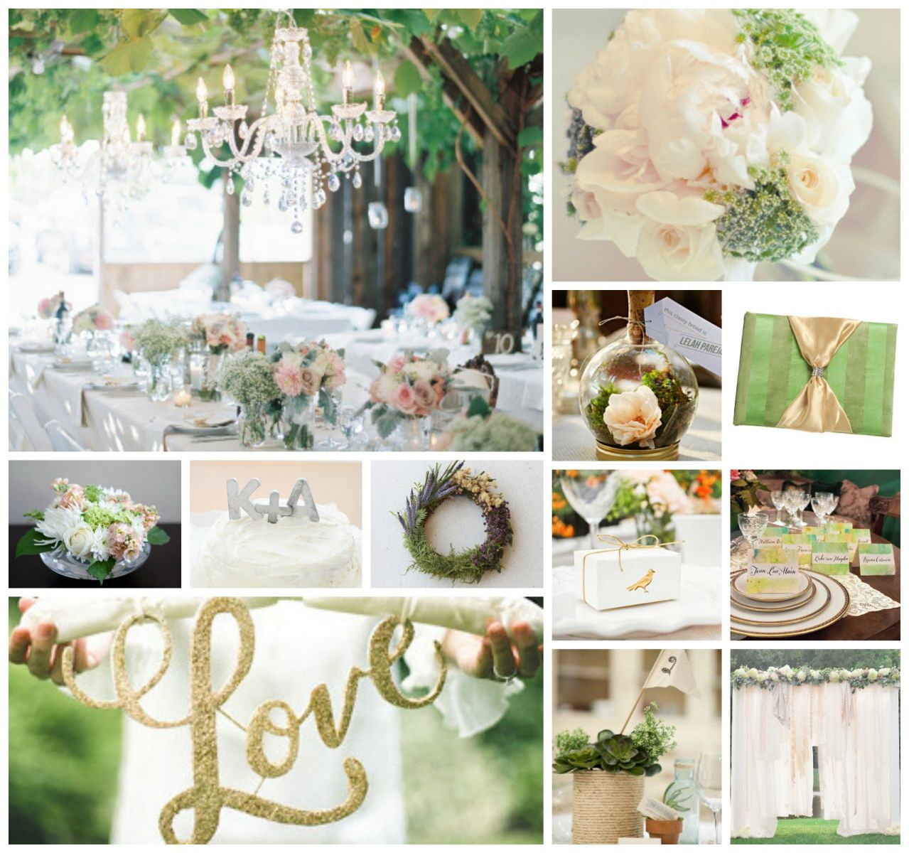 Wedding Color Schemes: Neutrals | AllFreeDIYWeddings.com