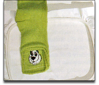 Embroidery Socks 3