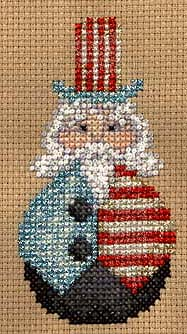 Uncle Sam Cross Stitch
