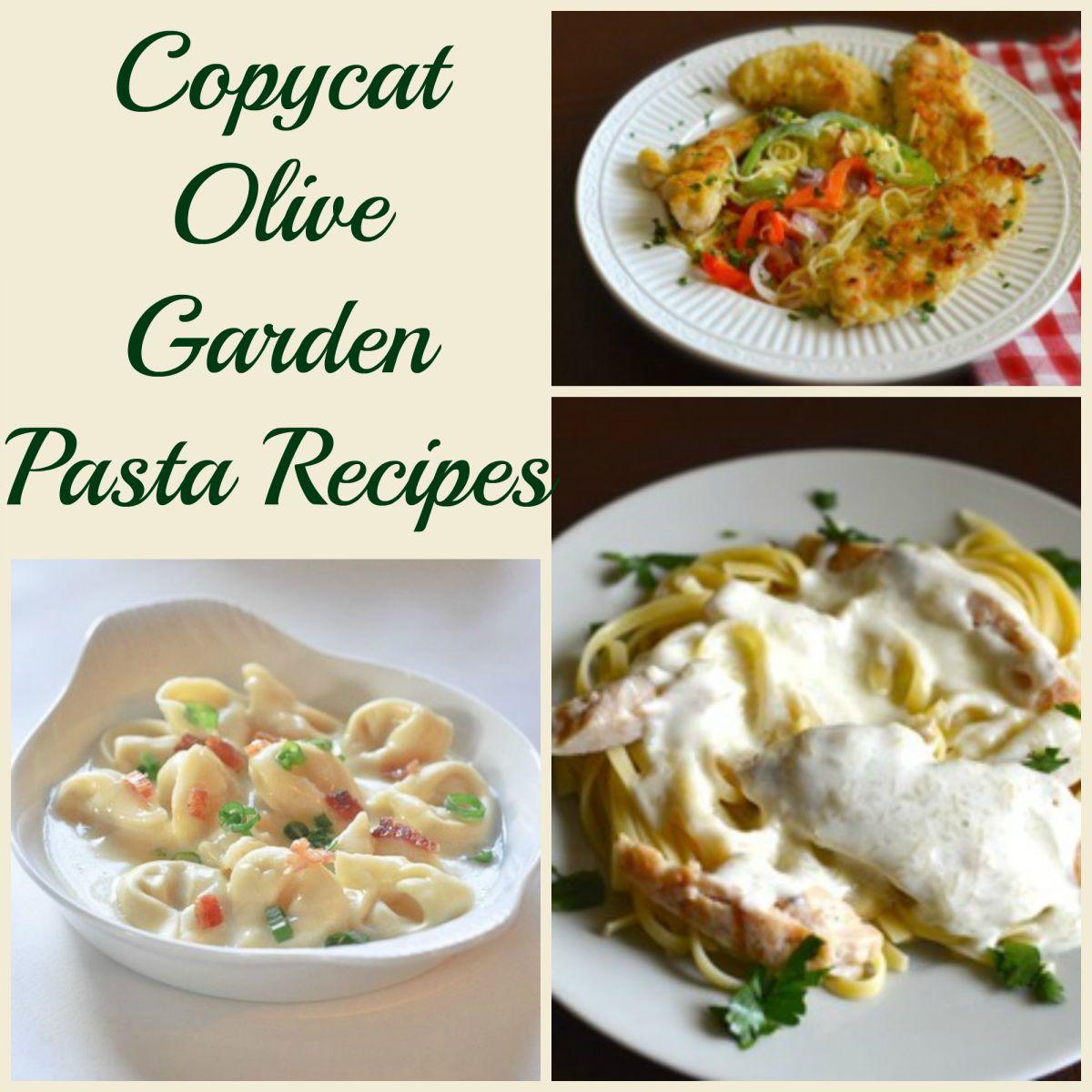 10 Copycat Olive Garden Pasta Recipes.