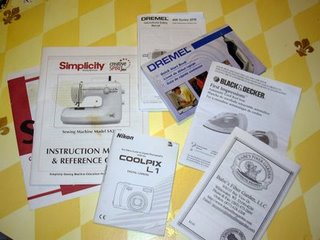 Many Manuals for Crafters