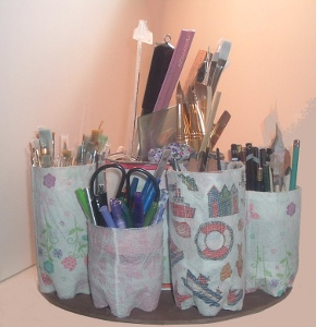 Water Bottle Supply Organizer