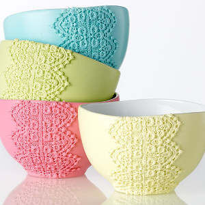 Brilliant Lace Bowls