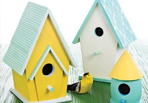 Martha Stewart Bird Houses