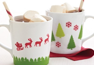 Martha Stewart Christmas Mugs