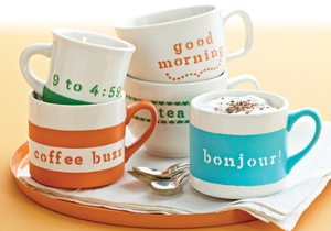 Martha Stewart Coffee Mugs