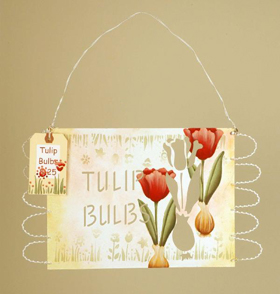 Painted Tulips Sign