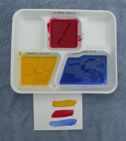 Rainbow Watercolor Box