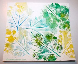 Watercolor Leaf Prints