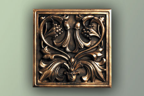 Antiqued Metal Painting Techique
