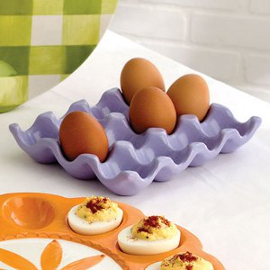 Williams Sonoma Style Egg Crate