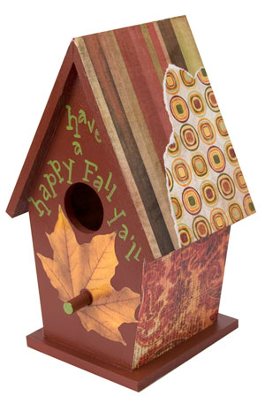 Fall DIY Bird House