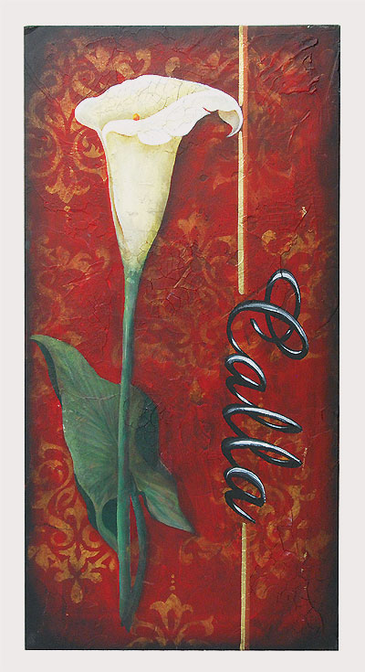 Calla Lily Decorative Painting