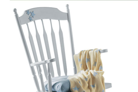 Painted Baby Room Rocking Chair