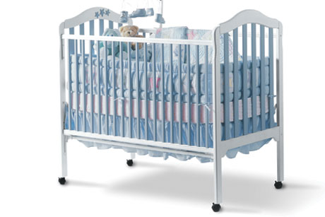 Custom Painted Baby Crib