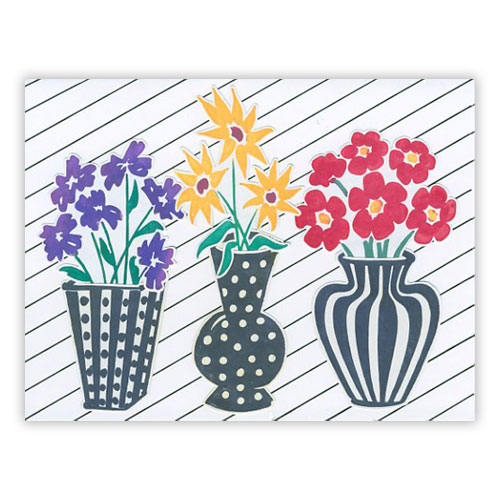 Blooming Spring Flowers Card