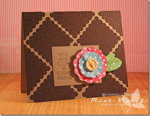 Flower card and instructional video favecrafts flower card 1 mightylinksfo