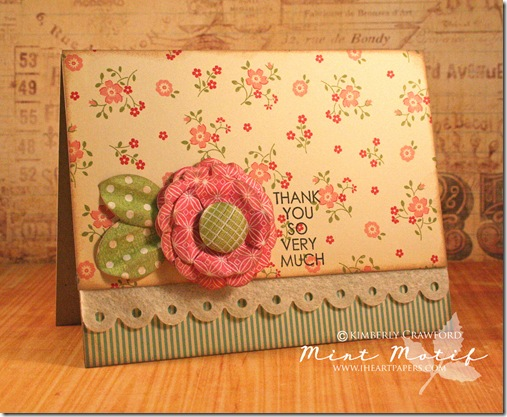 Flower card and instructional video favecrafts paper craft video flower card 1 flower card 2 mightylinksfo