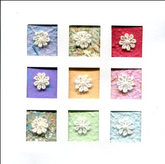 Flower Trim Card