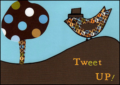 Tweet Up Card