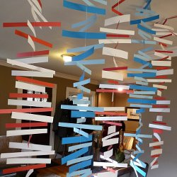 Colorful Paper Mobile