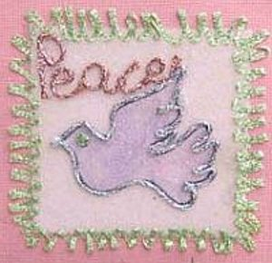 Paper Peace Ornament