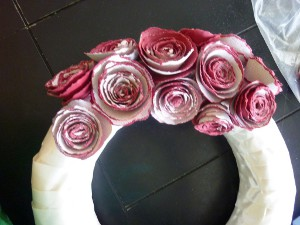 Rose E'er Blooming Wreath